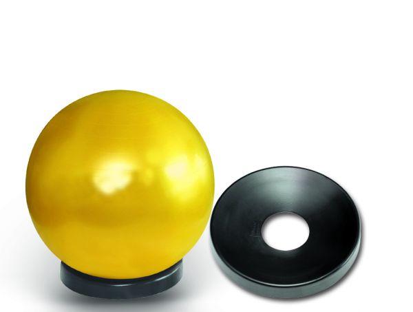 Ballschale - schwarz für Gymnastikbälle