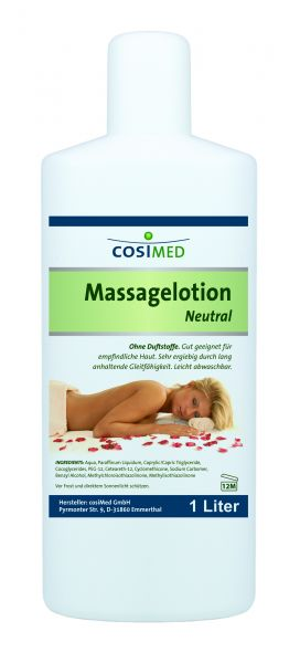 Massagelotion 1 l Flasche - neutral