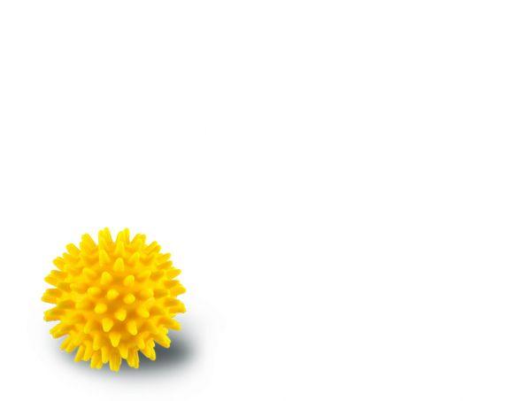 Noppenball - gelb - 8 cm
