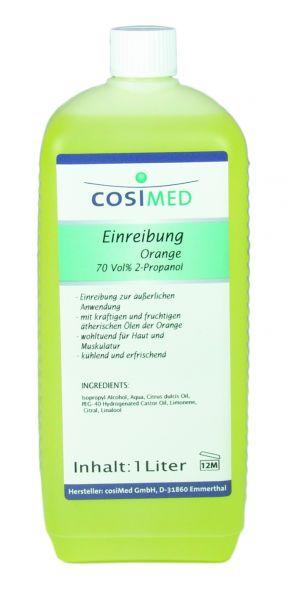 Einreibung mit Orangenduft