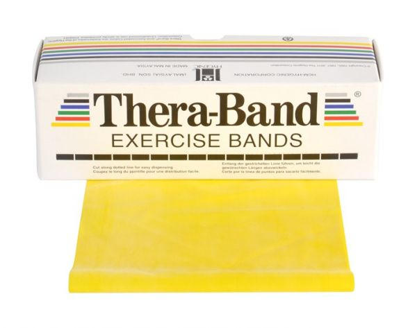 Thera-Band ca. 5,5 m Rolle leicht