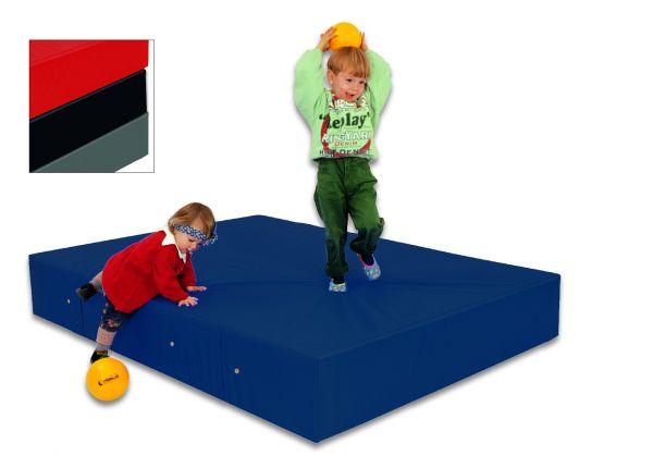 Weichboden-Turn / Gymnastikmatte blau