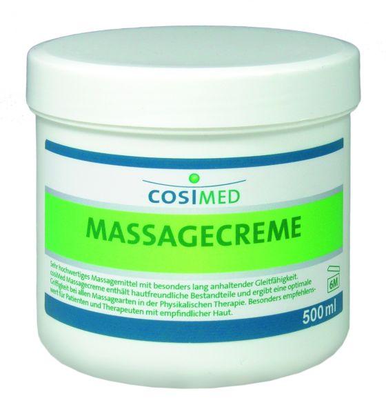 Massagecreme mit frischem Duft 500 ml