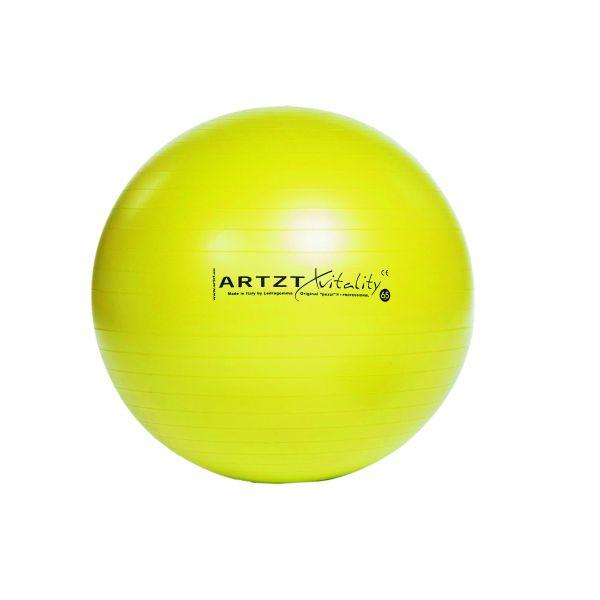 Artzt vitality® Fitness Ball - gelb 45 cm
