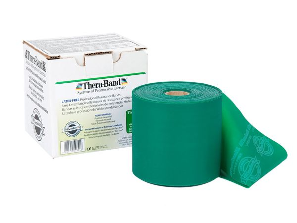 Thera-Band ca. 45 m Rolle stark