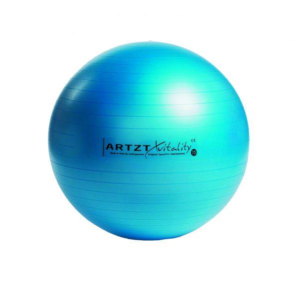 Artzt vitality® Fitness Ball - blau 75 cm