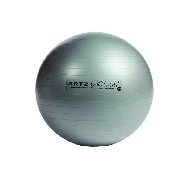 Artzt vitality® Fitness Ball - silber 65 cm
