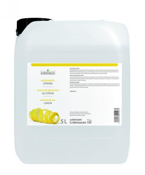 Massageöl - Zitrone - 5 l Kanister