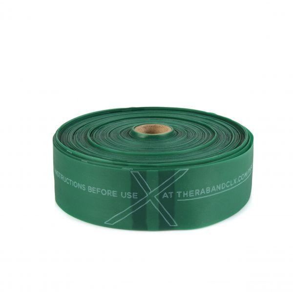 Thera Band CLX Rolle 22m, stark / grün