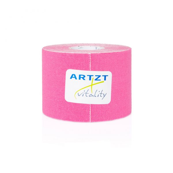 ARTZT vitality Kinesiologisches Tape 5,0 m - pink