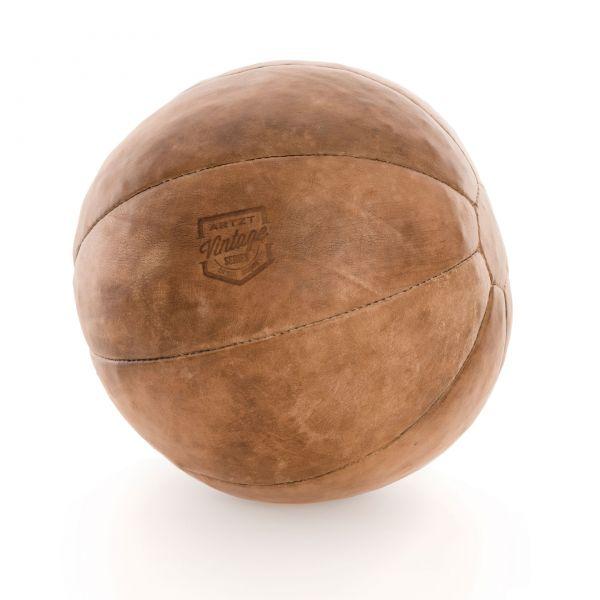 ARTZT Vintage Serie Medizinball 4 kg - Leder