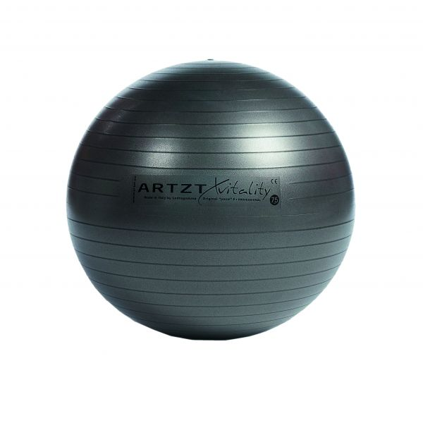 Artzt vitality® Fitness Ball - anthrazit 75 cm
