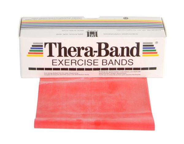 Thera-Band ca. 5,5 m Rolle mittel