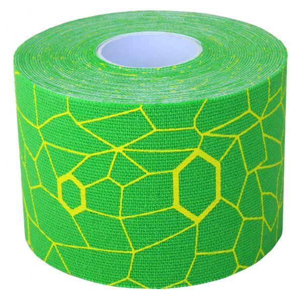 Thera Band Kinesiology Tape, grün / gelb