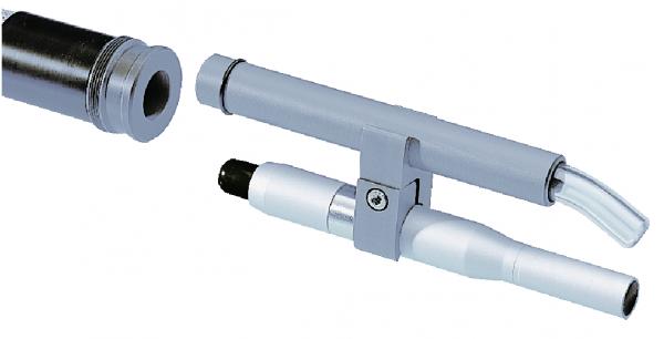 ZIMMER Adapter für Laseranwendung, mit Clips, 20cm