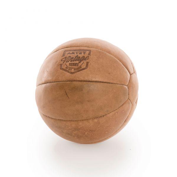ARTZT Vintage Serie Medizinball 2 kg - Leder