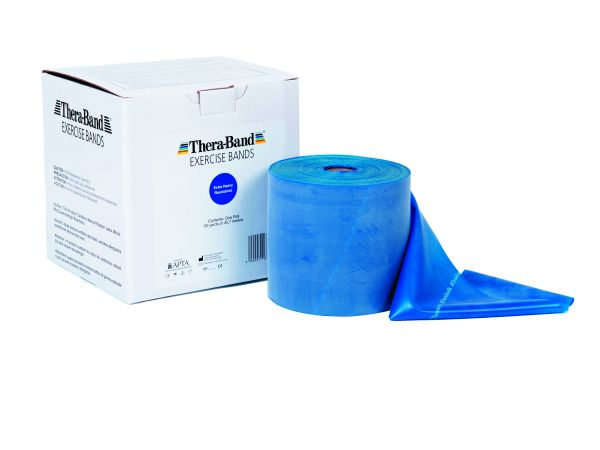 Thera-Band ca. 45 m Rolle extra stark