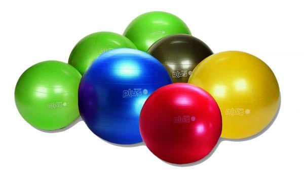 Gymnic-PLUS Sicherheitsball - anthrazit 65 cm