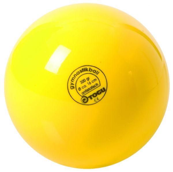 TOGU Gymnastikball 16 cm - gelb
