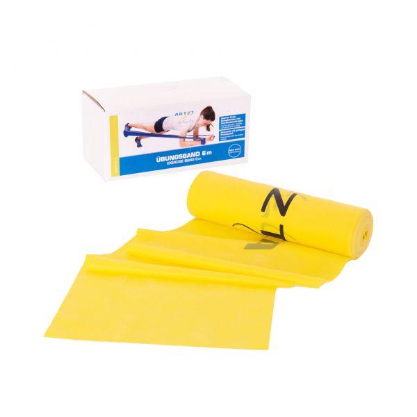 ARTZT vitality Übungsband 6 m, leicht / gelb