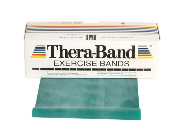 Thera-Band ca. 5,5 m Rolle stark