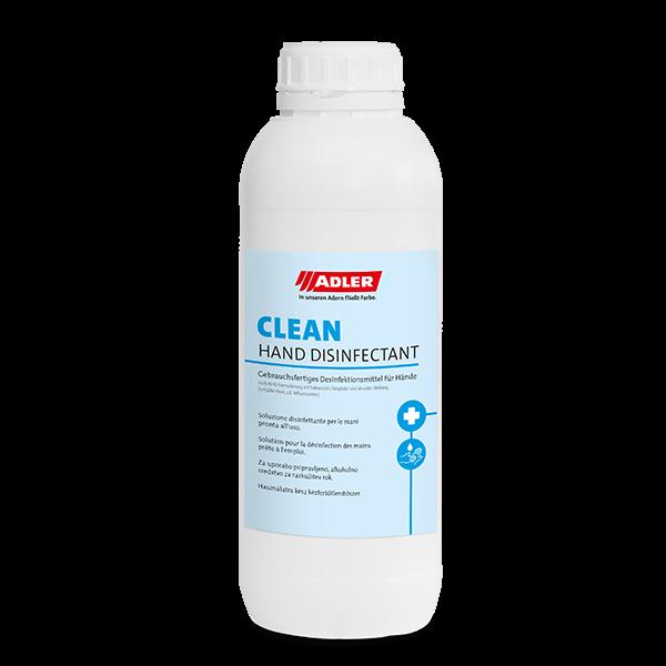 ADLER Clean Hand Disinfectant – 950 ml Flasche