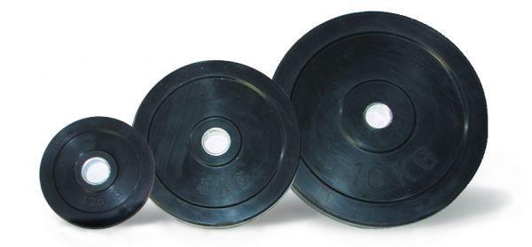 Gummi-Hantelscheibe - 15,00 kg