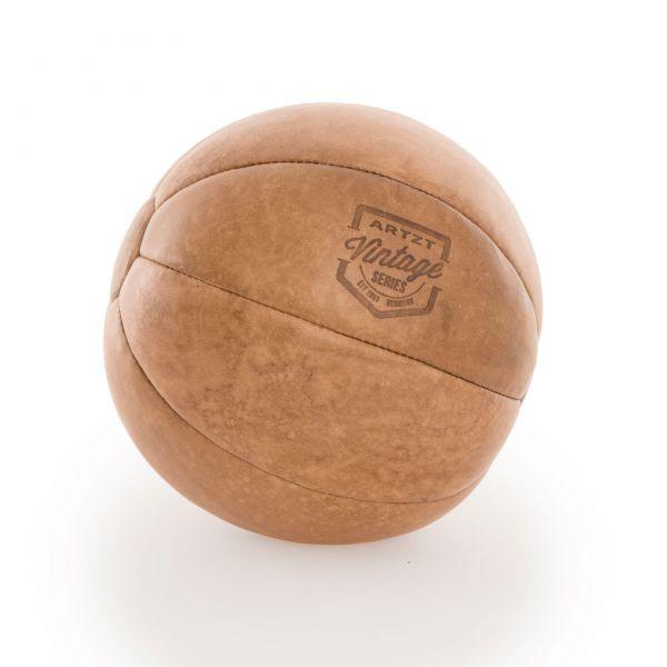 ARTZT Vintage Serie Medizinball 3 kg - Leder