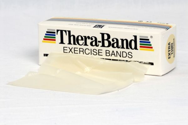 Thera-Band ca. 5,5 m Rolle extra leicht