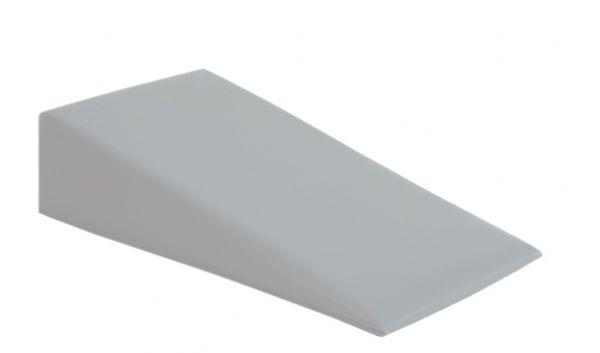 Keilkissen 40 x 20 x 10/2 cm Farbe grau