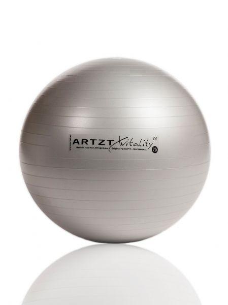 Artzt vitality® Fitness Ball - silber 75 cm