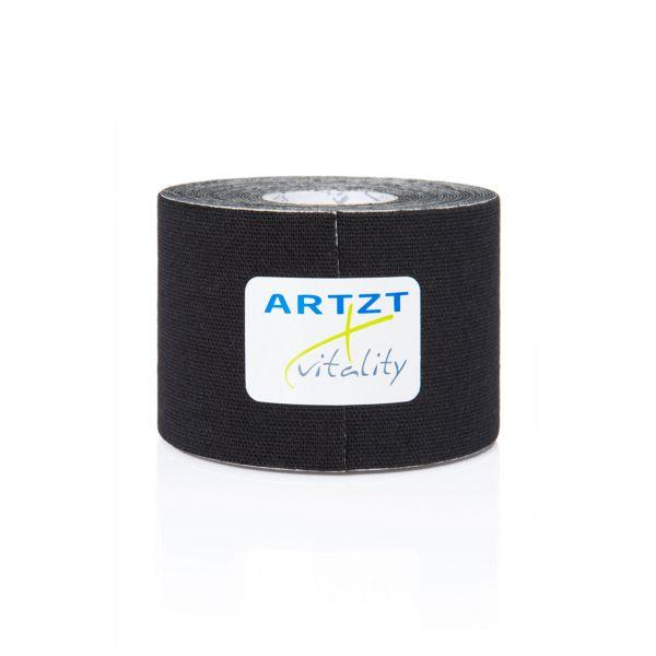 ARTZT vitality Kinesiologisches Tape 5,0 m - schwarz