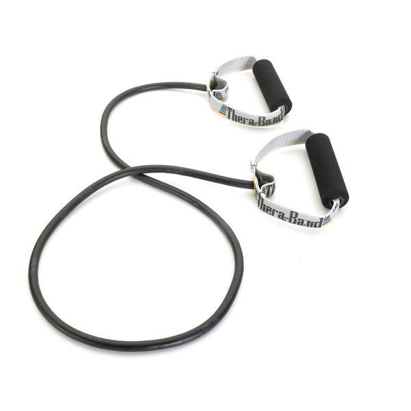 Thera-Band Tube: spezial stark - schwarz
