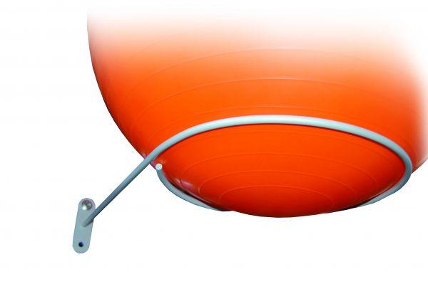 Ballhalterung für einen Gymnastikball
