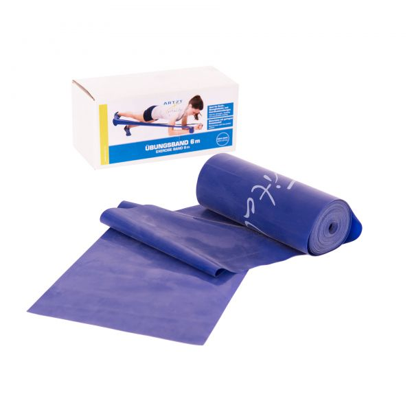 ARTZT vitality Übungsband 6 m,extra stark / blau