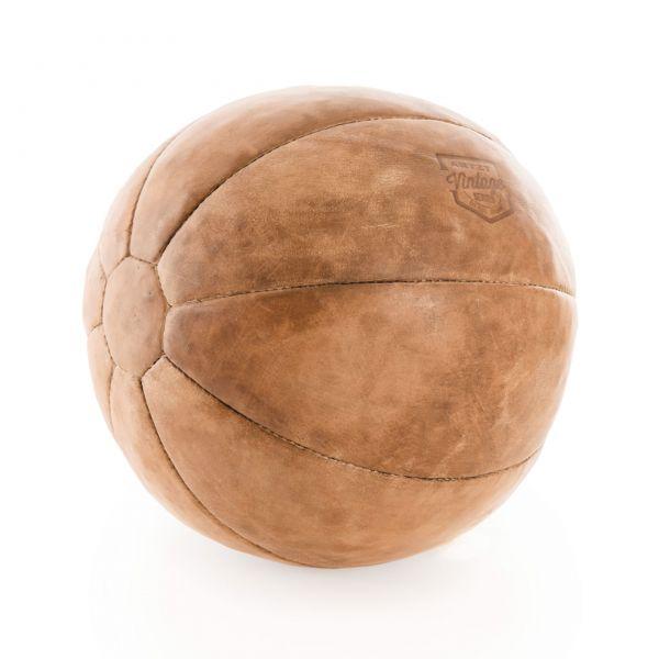 ARTZT Vintage Serie Medizinball 5 kg - Leder